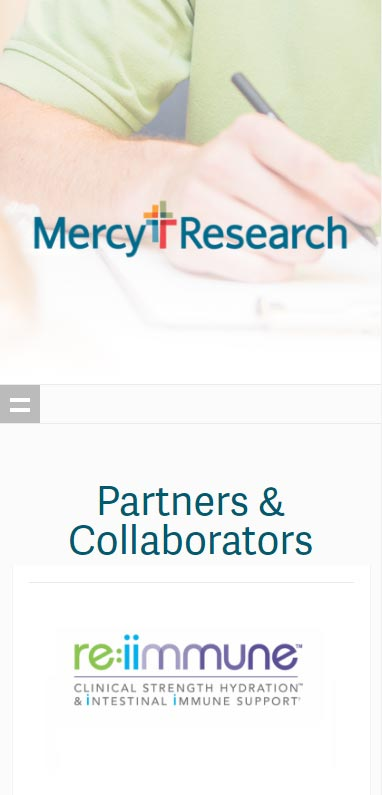 Mercy Research Partners Collaborators